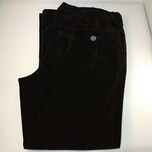 Diane Gilman DG2 Women's Black Coduroy Jeans 16W